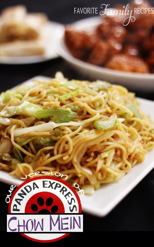 Panda Express Chow Mein