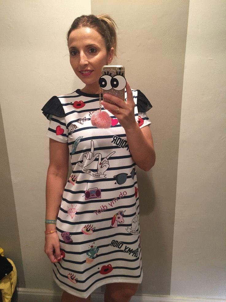 Qué tal, pingos? ¡¡Oh my Dior, vaya calor!! Échate a la calle con este  nuestro vestidito oh my dior navy de #KeepAndTrendy. #Dpatry #Leonesp #Moda  #DPatryClothes #leonesp #clothes #style #cute #happy #instamoment #tueresunica #igersleonesp #fashion #workingon #hechoconamor #somosdeleon #comeon #instadream #doit #moda #outfit #aireretro #mdemona #keepandtrendy #marronynegro