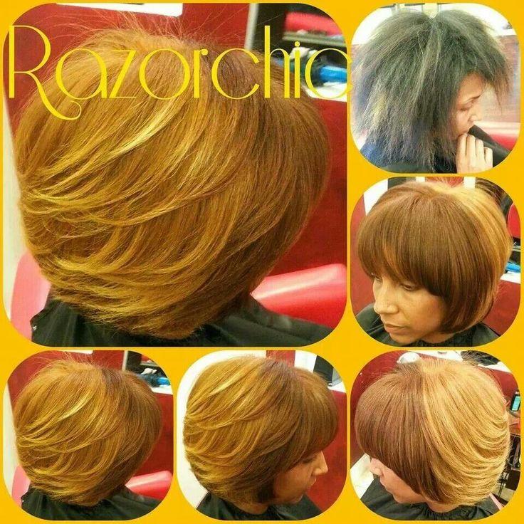 Razor Chic Of Atlanta Hair Pinterest Nice Colors