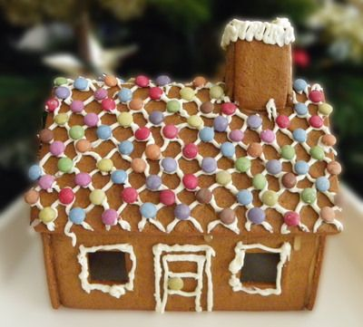 Decorate a Christmas Gingerbread House  (Get the gingerbread house from IKEA - too easy!)