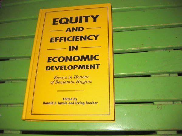 Equity and Efficiency in Economic Development : Essays in Honour of Benjamin...