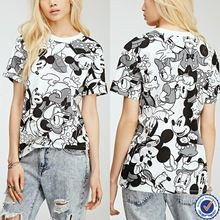 2015 tops latest design cheap custom ladies allover printed T-shirts bulk buy from china   best seller follow this link http://shopingayo.space