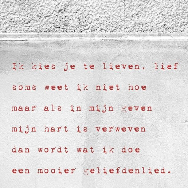 Over de liefde!  Copyright: Driesnoer!