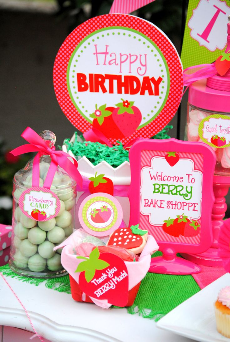 STRAWBERRY Party - Strawberry BURSTS - Berry