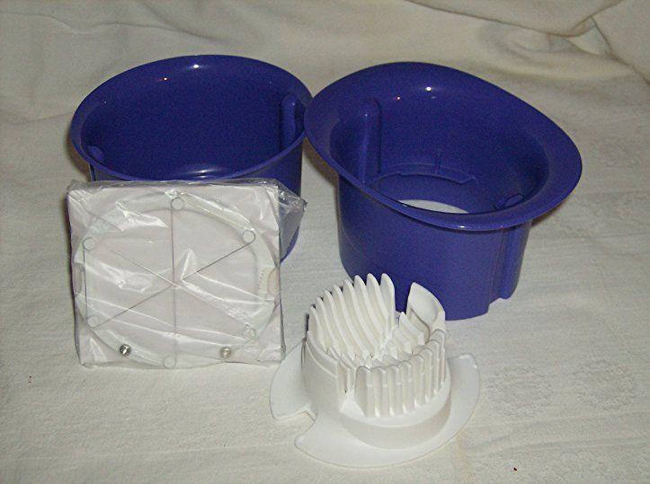 Tuperware(c) Schneidstar, blau - tupperware aufbewahrung küche ideen - dunkelblaue kche