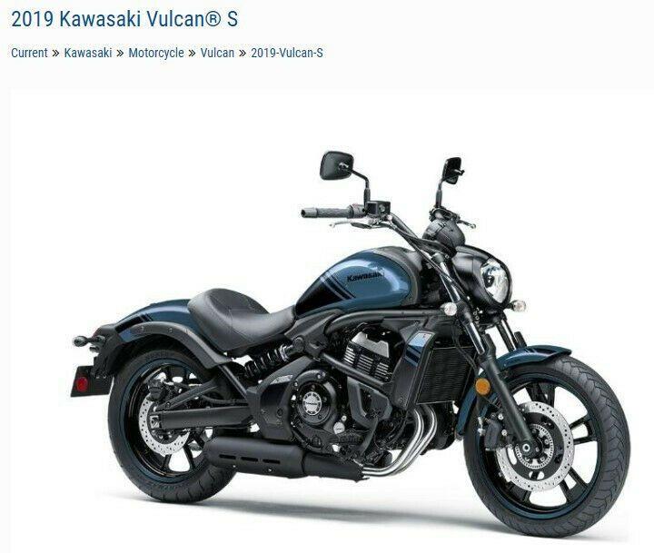 Details About 2019 Kawasaki Vulcan S Abs En650dkfal Kawasaki