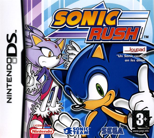 Sonic Rush was developed by Dimps who had produced the Advance games under the supervision of Sonic Team. Description from captainwilliams.co.uk. I searched for this on bing.com/images