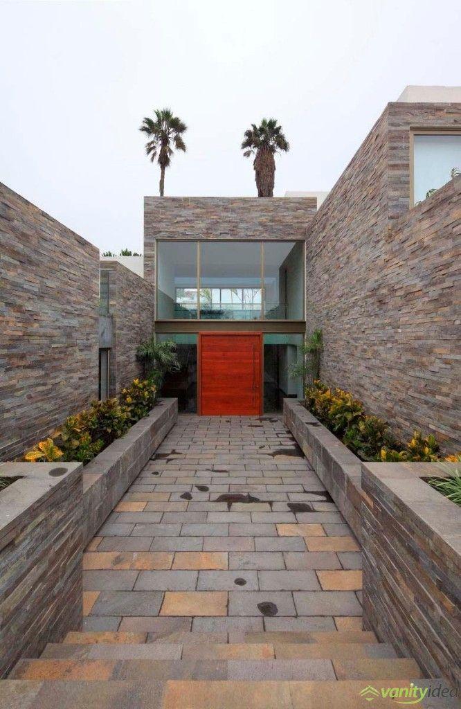exterior stone walls design