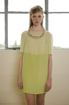 Penny Sage 'Sun & Moon' dress, SS 2013 capsule, from alwayssometimesanytime