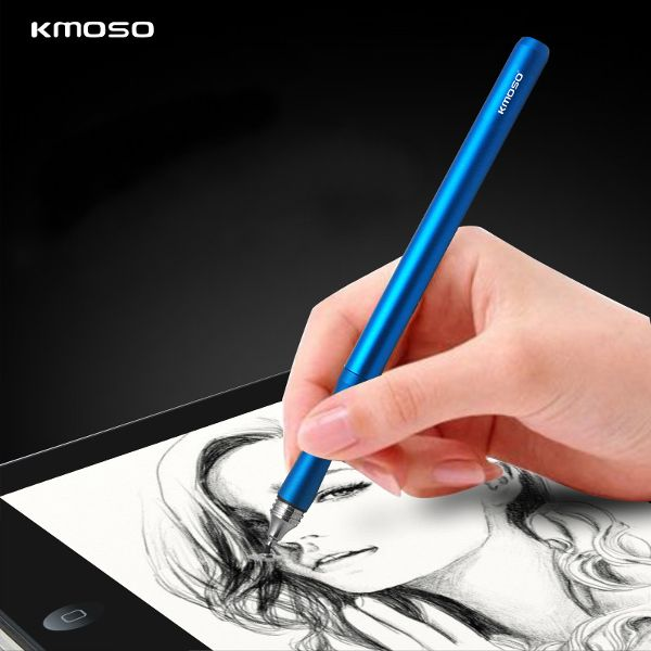 kmoso Drawing Pen Point Disc Touch Screen Capacitive Stylus Pen for iPad iPhone Cell Phone Tablet