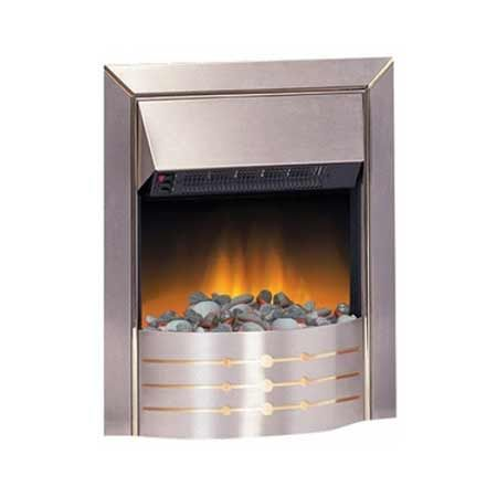 Dimplex ASP20 Aspen Inset Electric Fire 2kw Stainless Steel