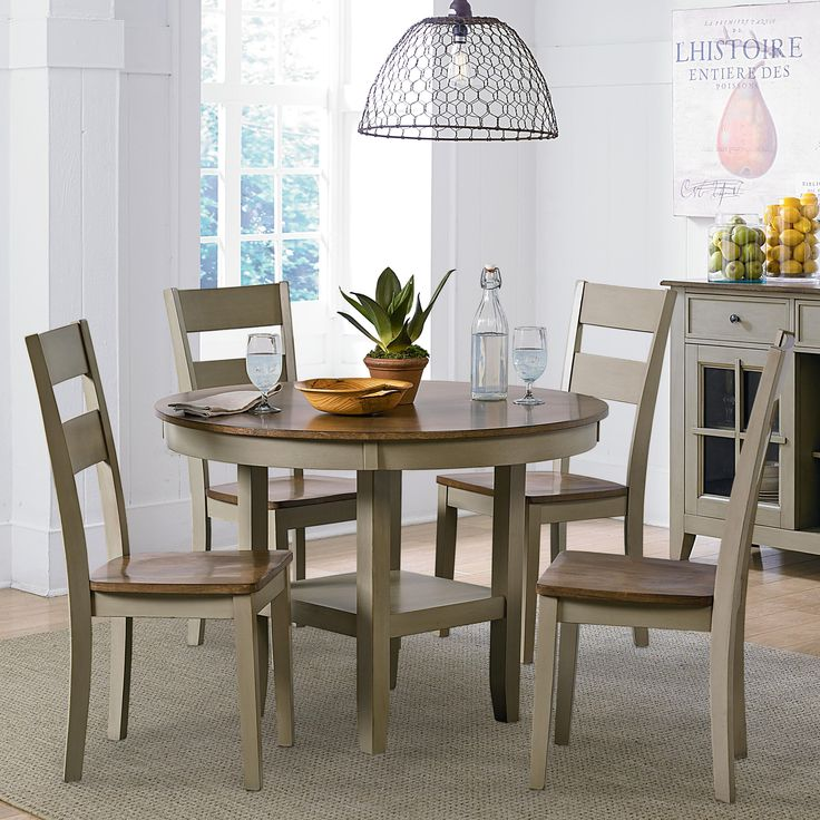 Pendleton Sage Casual Kitchen Table and Chair Set by Standard Furniture