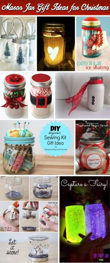 53+ Ideas For Diy Christmas Gifts For Boyfriend Xmas Mason Jars