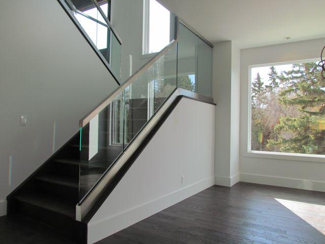 Glass Stair Railings