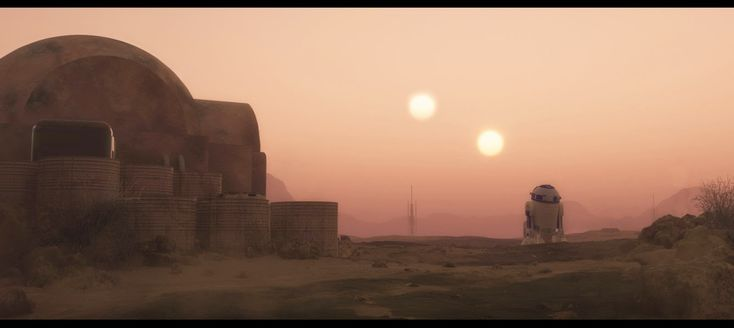 heidi's wanderings: Tatooine Sunset