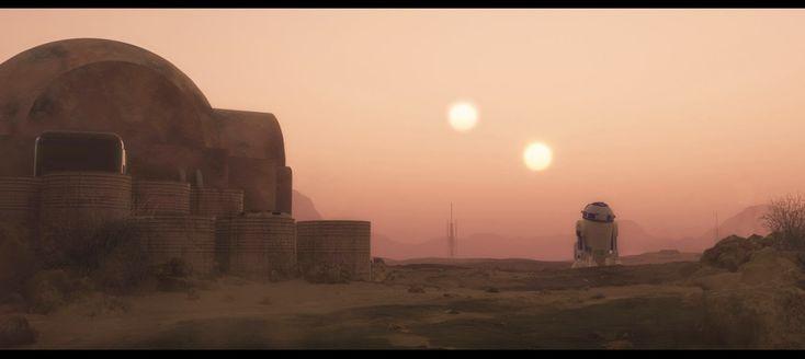 heidi's wanderings: Tatooine Sunset