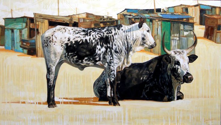 Discovery channel oil on canvas 123cm x 78cm