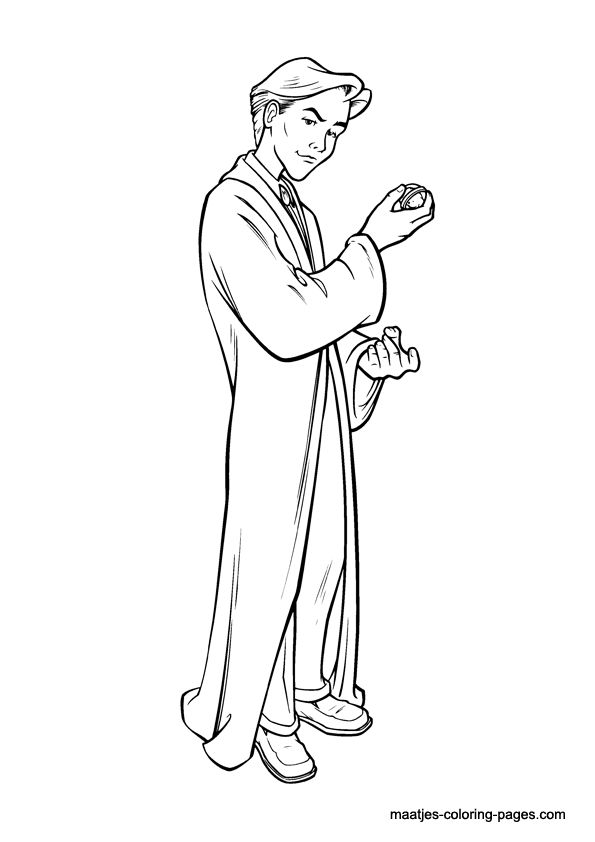 72 best Harry Potter Coloring Pages images on Pinterest Harry