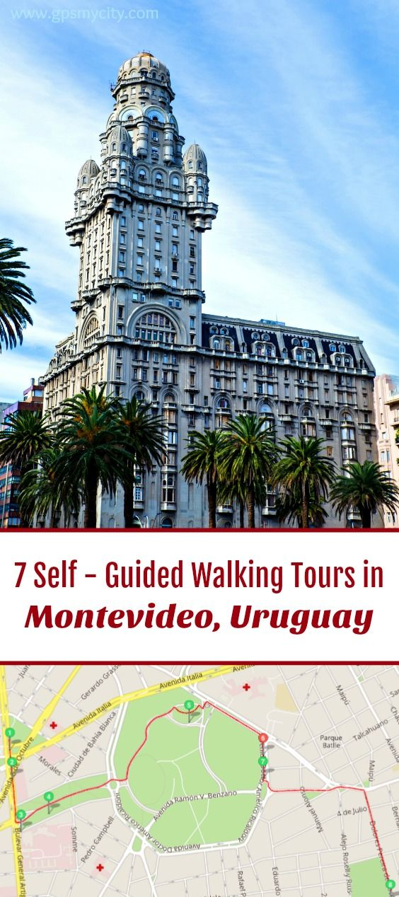 Follow these 7 expert designed self-guided walking tours in Montevideo, Uruguay to explore the city on foot at your own pace. Each walk comes with a detailed tour map and together they are the perfect Montevideo city guide for your trip.