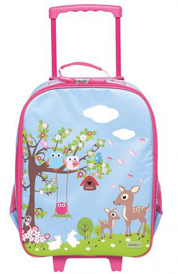 Fun and cheerful, the Wheelie Travel Bag by Bobble Art is an excellent quality, lightweight kids suitcase that little travellers will love t...