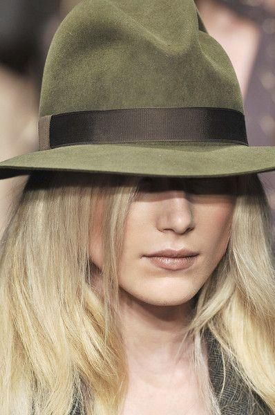 Olive fedora, yes please.
