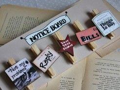 Tabliczka klamerki na notatki zdjęcia