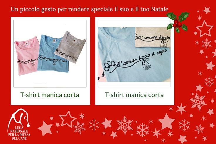 Un piccolo gesto per rendere speciale il suo e il tuo #Natale ♥ #tshirt #shoppingsolidale #lamorelasciailsegno #oltrelaspecie 👉 http://bit.ly/2fZCym3