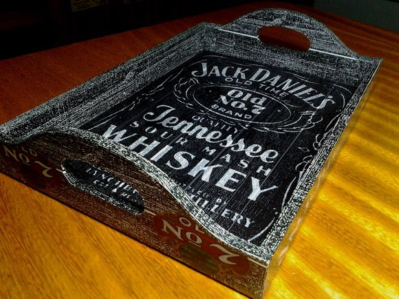 Bandeja Vintage Jack Daniels