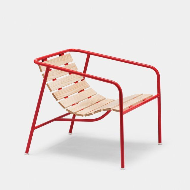 Crate series no 8 by jasper morrison for established for Plywood chair morrison