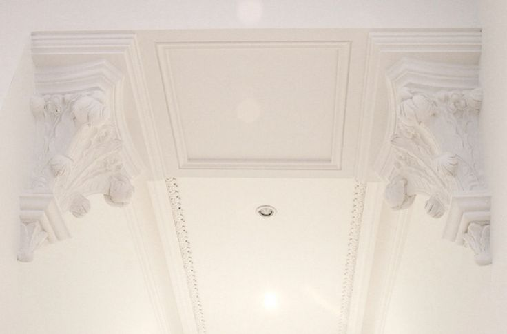 Decorative Corbels, Ornate Plasterwork by Ryedale Plasterers Ltd