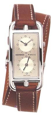 Hermes watch - just because it's a mans watch doesn't mean it can't be worn by a woman