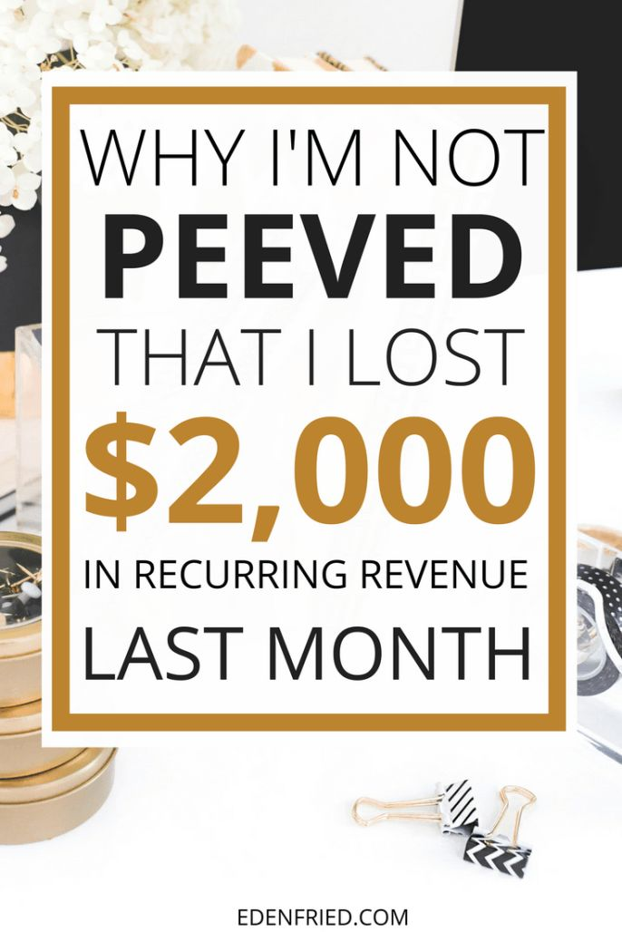 June 2017 Income Report - I LOST $2000 last month. Click through to ready why that happened and why I'm not pissed about it. Blog income report. EdenFried.com