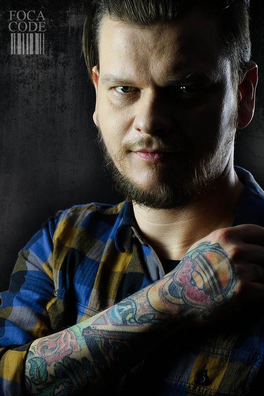 #portrait #men #tattoo #BlackStarStudio
