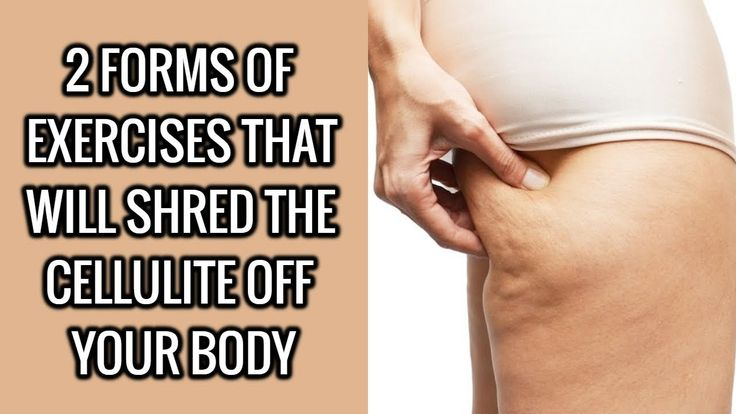 2 Common Exercises That Will Shred Cellulite Off Your Body
