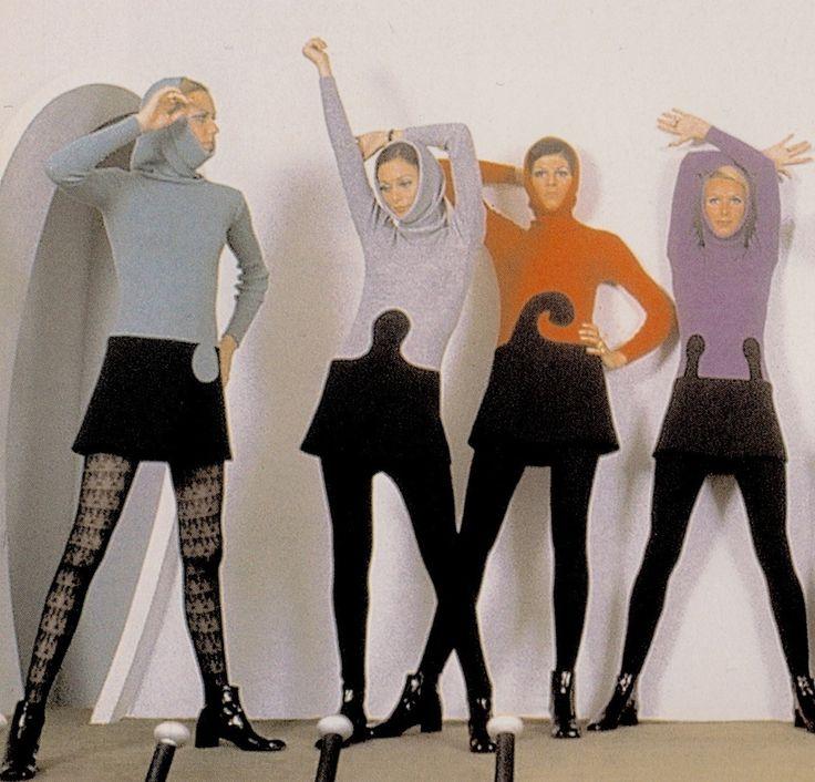 "PIERRE CARDIN Ready-to-wear women's collection 1969. ""One ..."