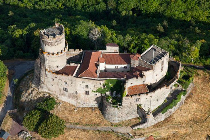 Château de Tournoel. Volvic 63530. Auvergne.