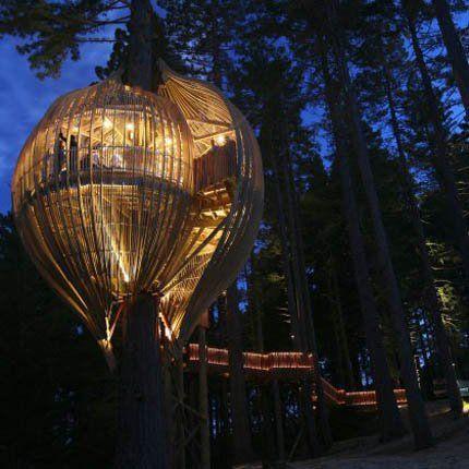 Le Treehouse, un restaurant-cabane - Marie Claire Maison