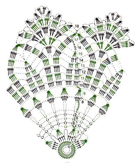 Круглые салфетки крючком со схемами - FiletHakeln за 03.2005   Любимая хозяйка