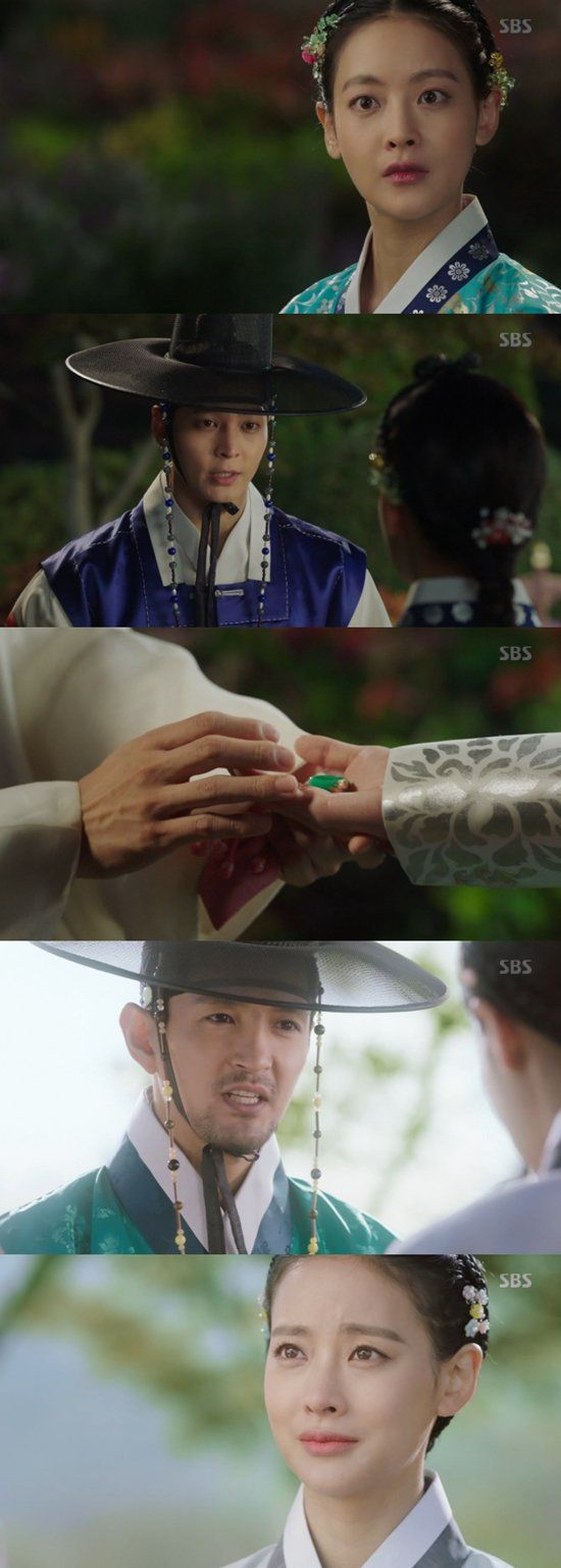 "[Spoiler] ""My Sassy Girl - Drama"" Oh Yeon-seo has a fiance while Joo Won falls for her"