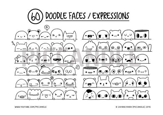 Best 25 face expressions ideas on pinterest drawing for Doodle art faces