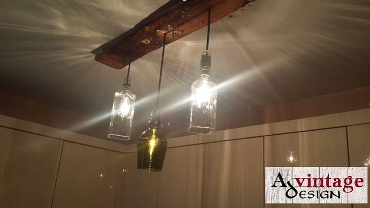 Avintage Design Kitchen Bottle Lighting