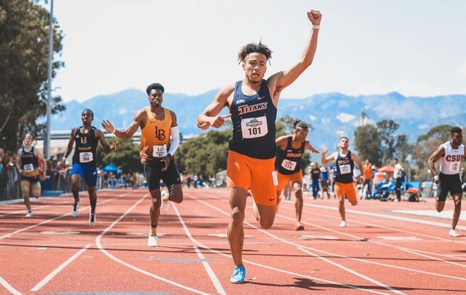 Csuf Track And Field Ready For Championship Competition Track And Field Athlete Track