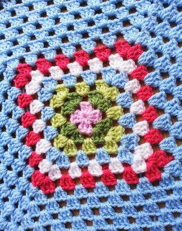 Cath Inspired Granny Square Blanket