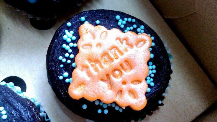 Thank You Cupcake #chocolate #cupcakes #ZuckerAmor