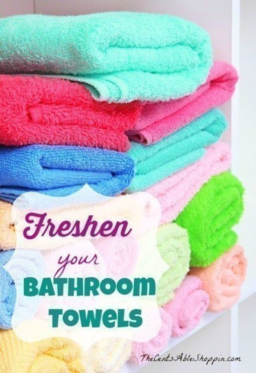 Freshen your Towels