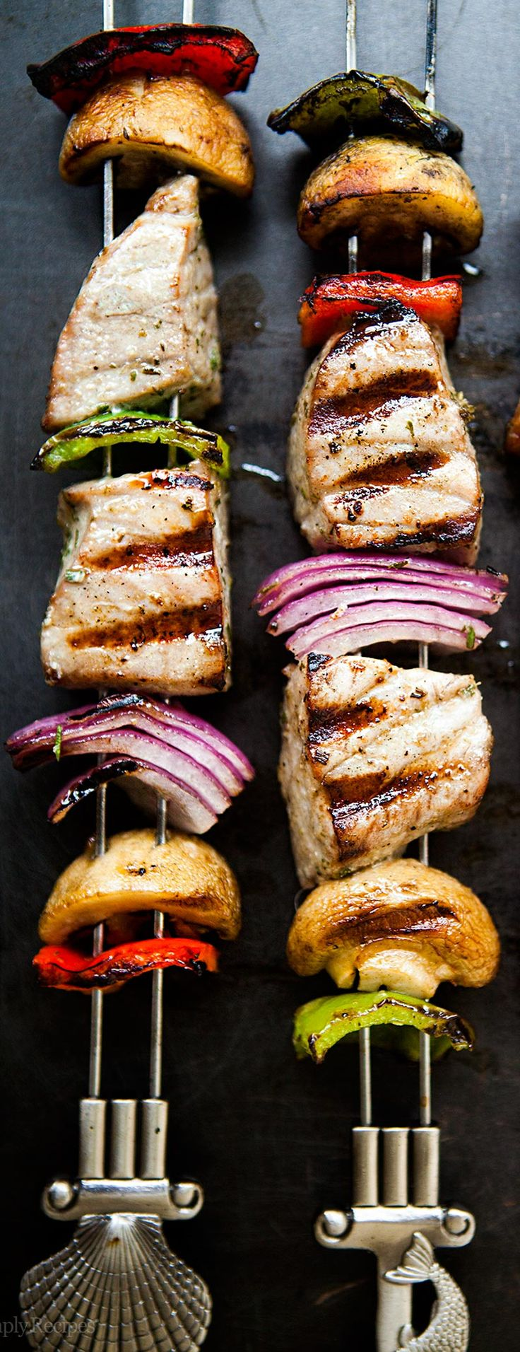 Tuna, Grilled tuna and Kebabs on Pinterest