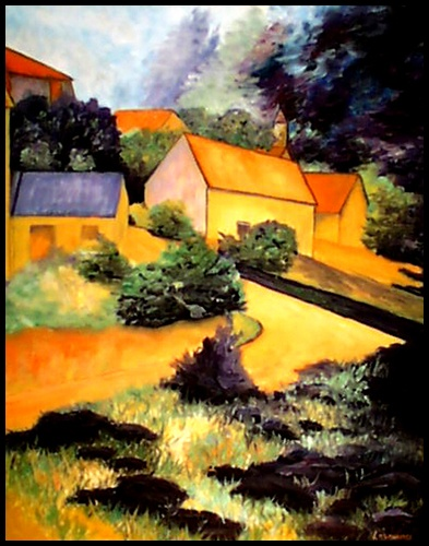 """Paul Cézanne--""""Impressionism means taking inspiration directly from nature, trusting your senses rather than what you think you know."""" Michael McClure"""