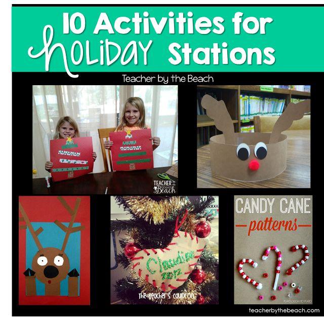 December Holiday Themed Day - Freebies! | The Teacher's Cauldron | Bloglovin'