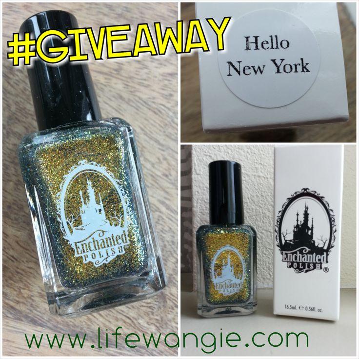 Enchanted Polish Hello New York Giveaway!