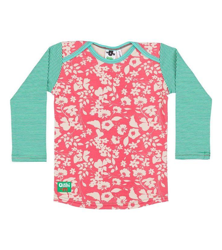 Mink L/S T Shirtt, Oishi-m Clothing for kids, Winter Break 2016, www.oishi-m.com